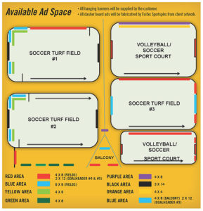 Fairfax Sportsplex - Ad Space