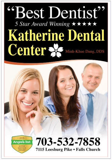 Katherine Dental Center - Proud Sponsors of Fairfax Sportsplex