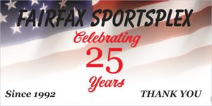 Fairfax Sportplex - Celebrating 25 Years!